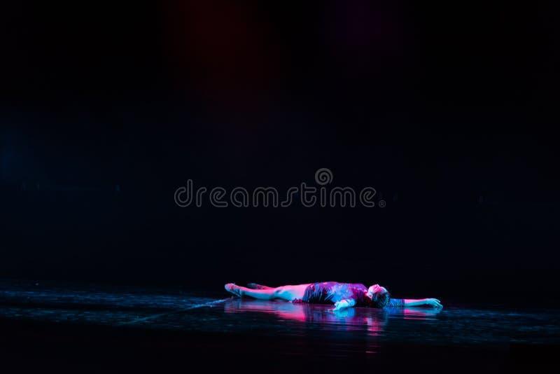 Sopor Aeternus--Tana dramata osioł dostaje wodnym obrazy stock