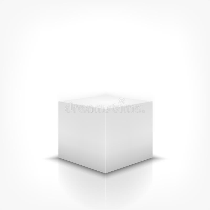 Soporte de la caja ilustración del vector