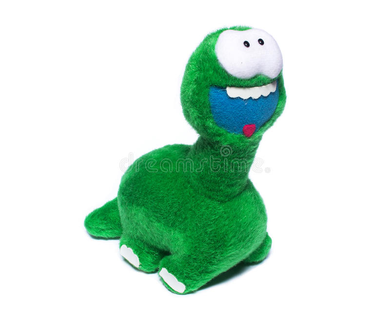 Soporte de la muñeca del dinosaurio imagen de archivo libre de regalías