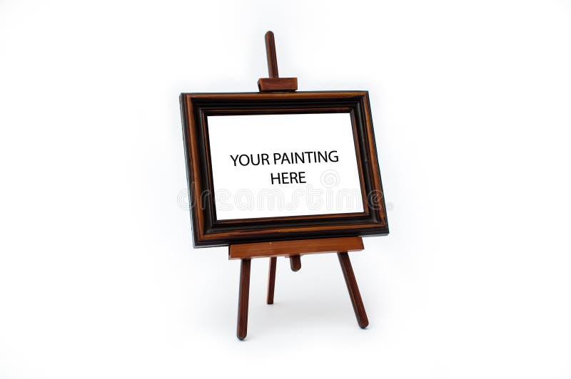 Soporte de pintura foto de archivo libre de regalías