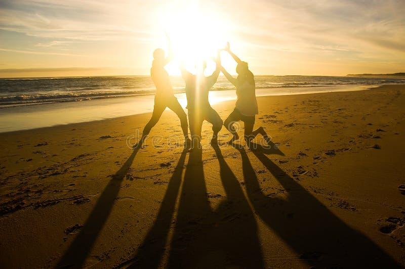 Soporte del sol fotografía de archivo libre de regalías
