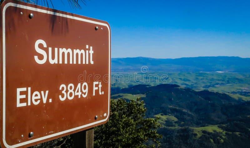 Soporte Diablo Summit fotografía de archivo libre de regalías