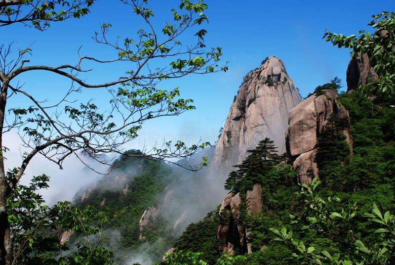 Soporte huangshan foto de archivo libre de regalías