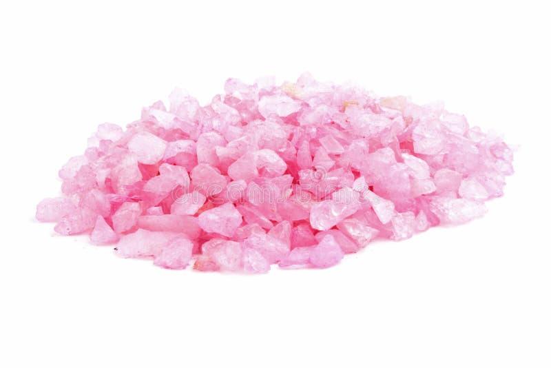Soporte rosado de la roca foto de archivo libre de regalías