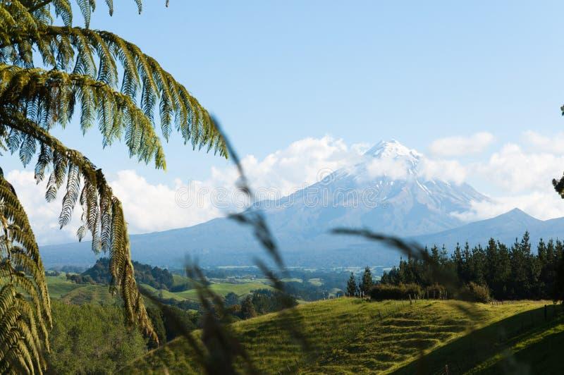 Soporte Taranaki (soporte Egmont), Nueva Zelanda fotografía de archivo libre de regalías