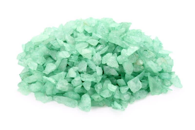 Soporte verde de las rocas imagen de archivo