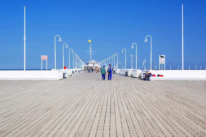 Download Sopot Molo - The Longest Wooden Pier In Europe Stock Image - Image: 31187111