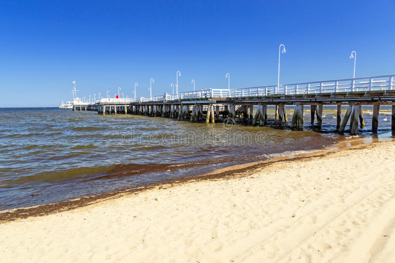 Download Sopot Molo - The Longest Wooden Pier In Europe Stock Image - Image: 31187333