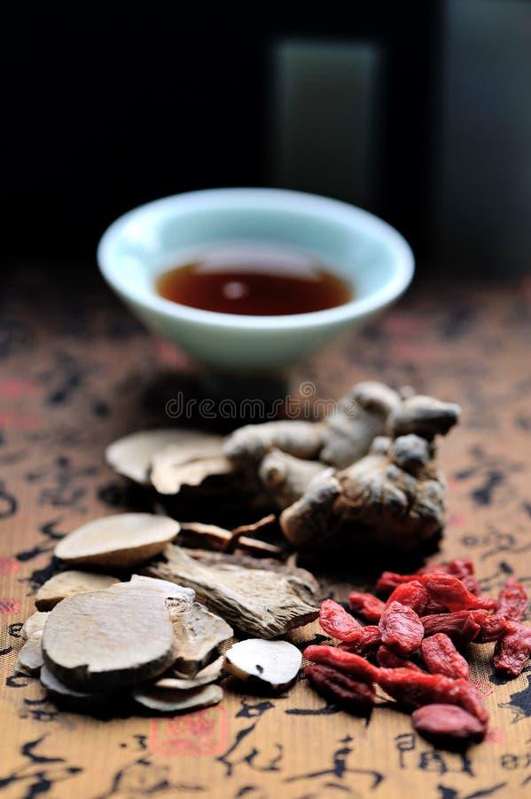 Soppa för kinesisk medicin royaltyfri bild