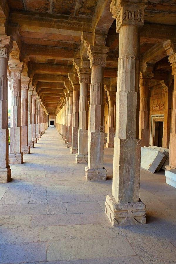 Sopportare i battiti di architettura, Jami Masjid, Mandu fotografie stock libere da diritti