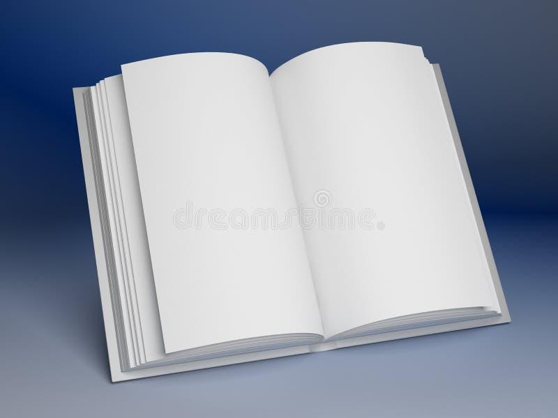 Soppressione il libro aperto illustrazione vettoriale