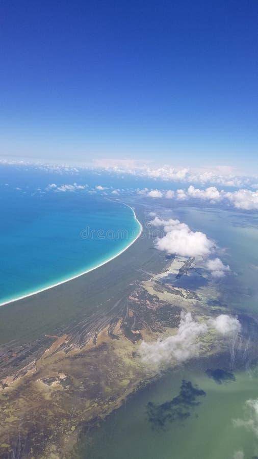 Sopra Cancun fotografie stock libere da diritti