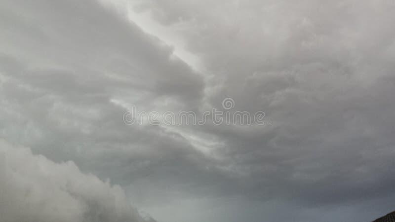 Sopra i cieli fusi fotografie stock libere da diritti