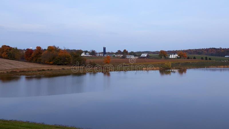Sopra il lago fotografia stock libera da diritti