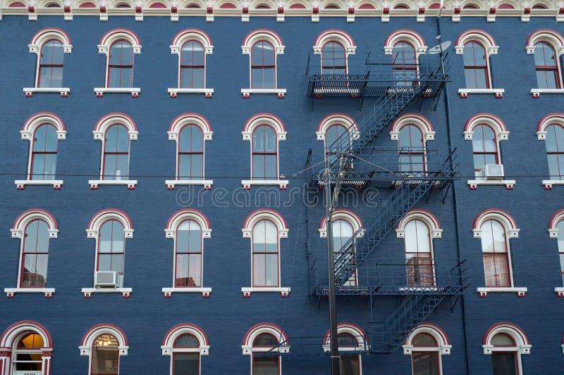 Sopra l'edificio del Reno a Cincinnati del centro immagine stock