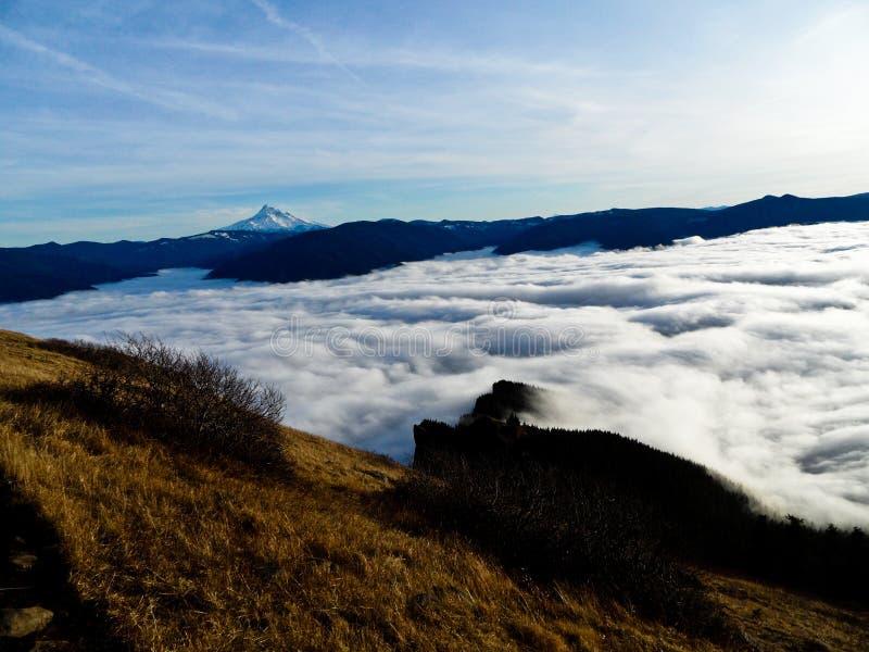 Sopra le nubi immagini stock libere da diritti