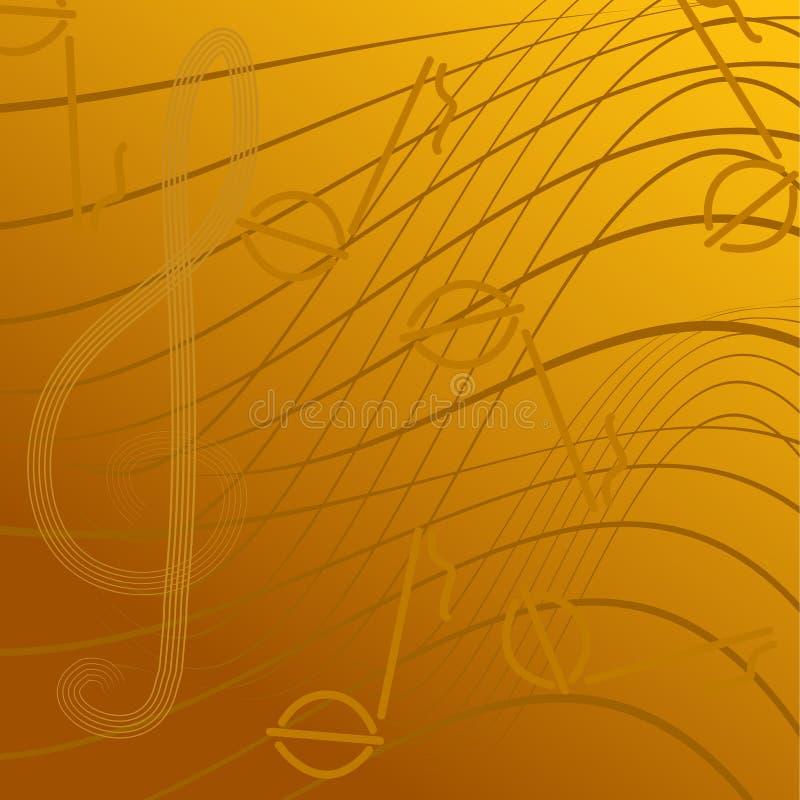 sopranów clef royalty ilustracja