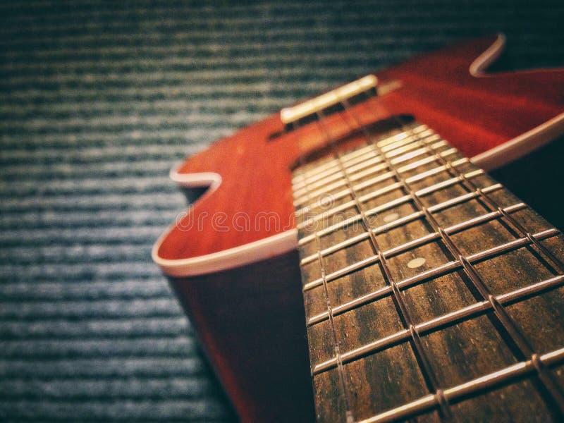 Soprano delle ukulele della chitarra immagine stock
