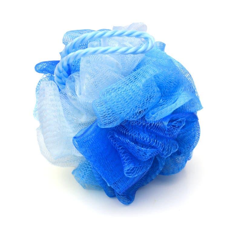 Sopro azul do banho fotos de stock