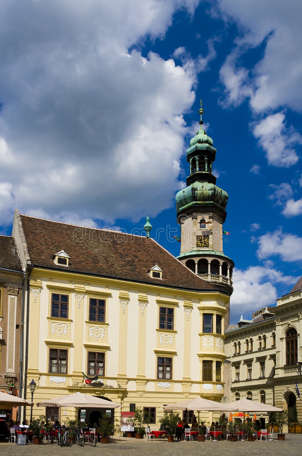 Sopron stock photo