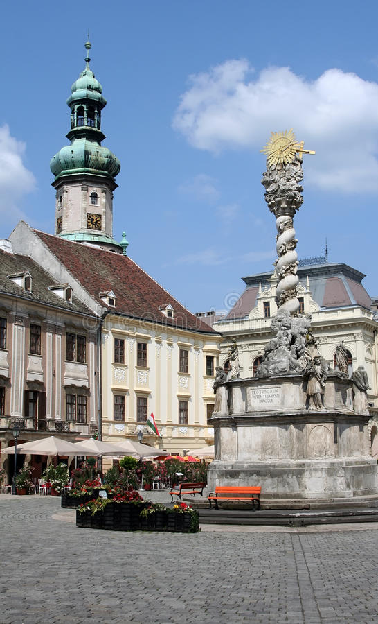 Sopron, Hungary stock image