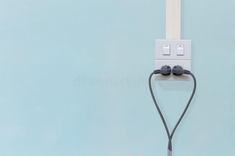 Soquete e interruptor da tomada foto de stock royalty free