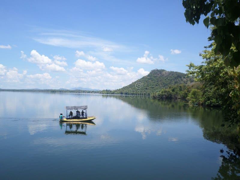 Sorabora湖斯里兰卡 库存图片