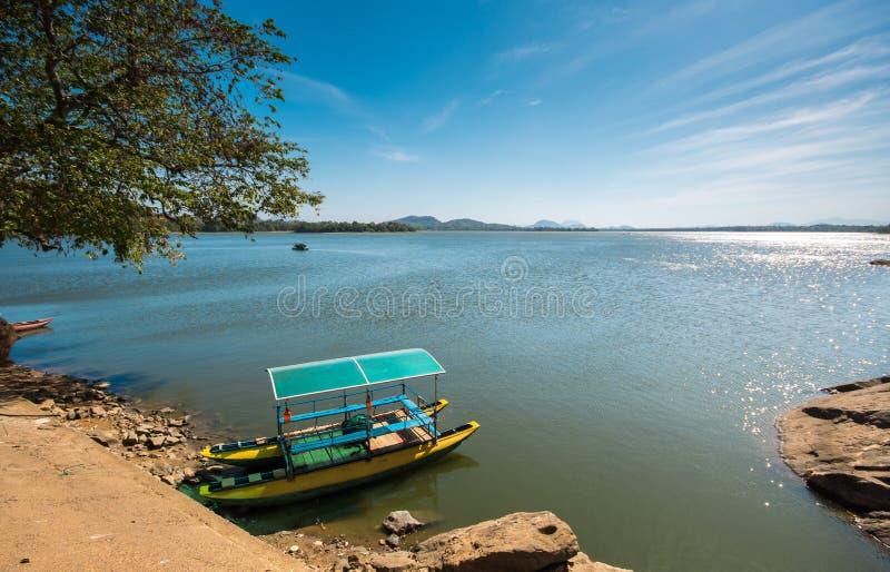 Sorabora湖,斯里兰卡 库存照片
