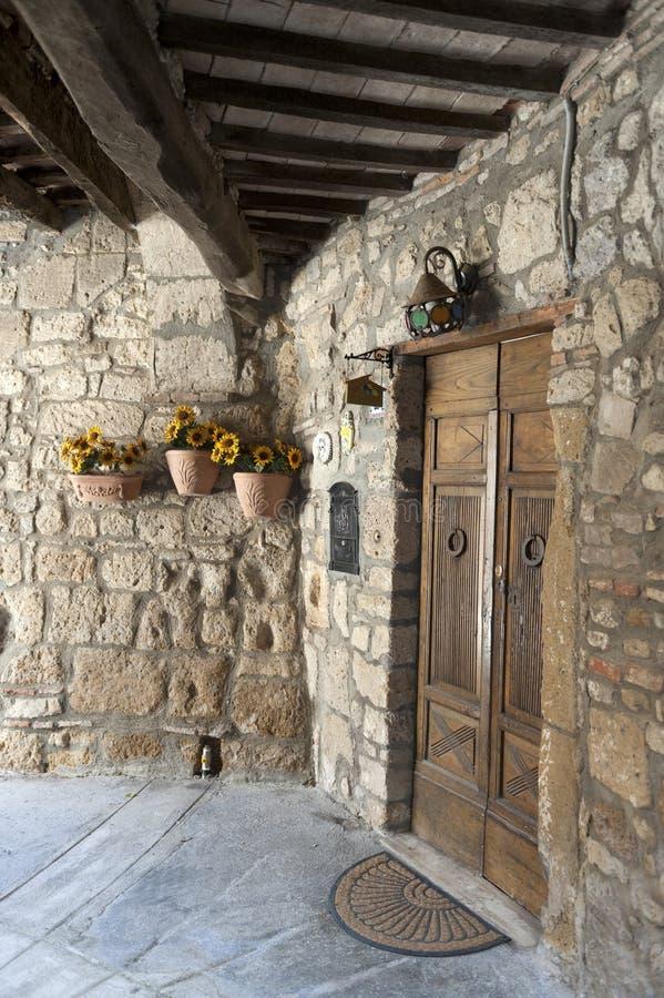 Sorano (Toscana, Italia) immagine stock libera da diritti