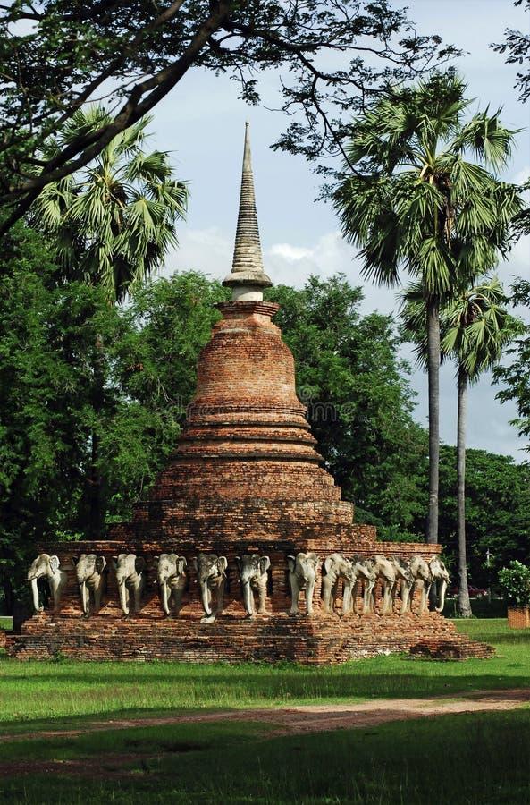 sorasak sukhothai Ταϊλάνδη wat στοκ φωτογραφίες