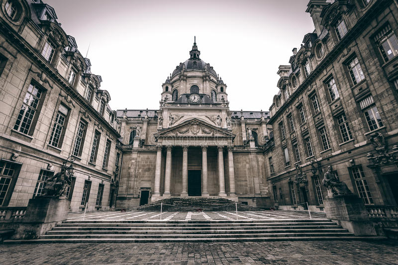 Sorbonne University royalty free stock photography
