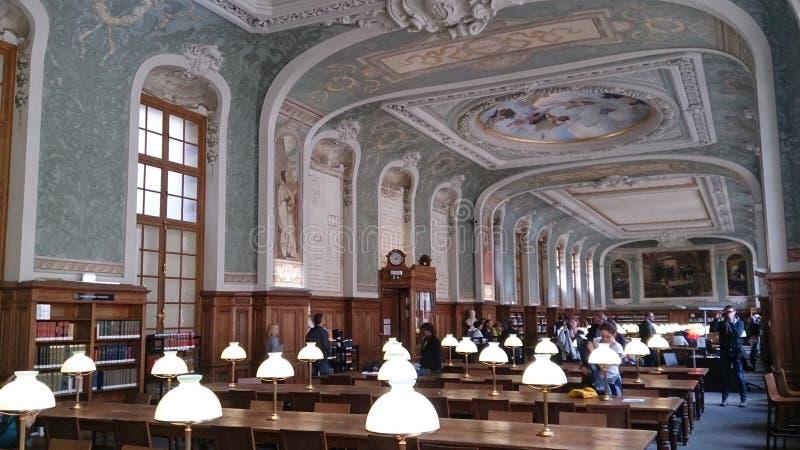 Sorbonnearkivet royaltyfria bilder