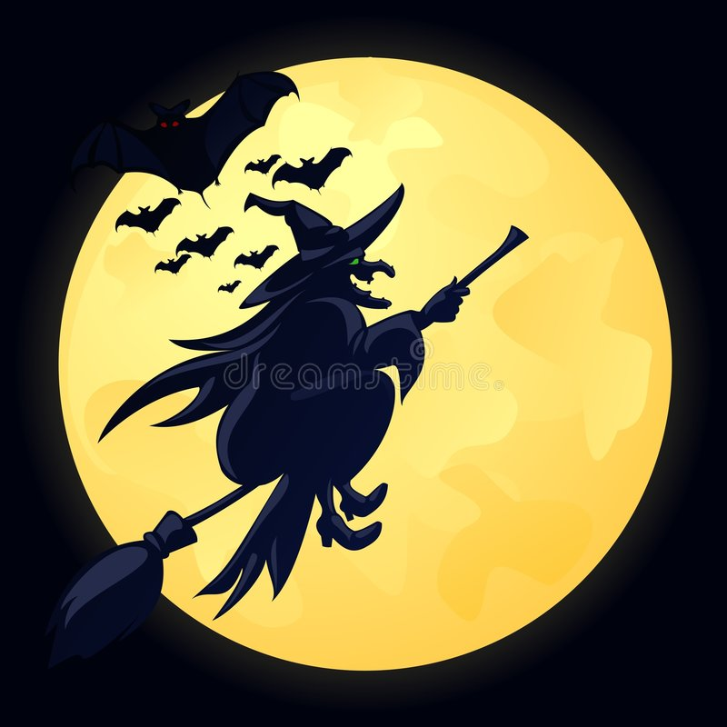 sorcière illustration libre de droits