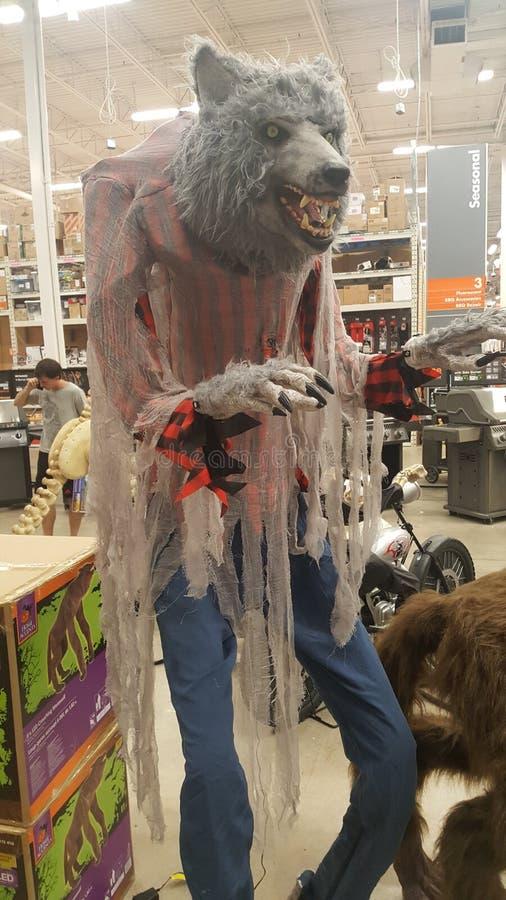 sorcières octobre effrayant de Halloween Home Depot photographie stock libre de droits