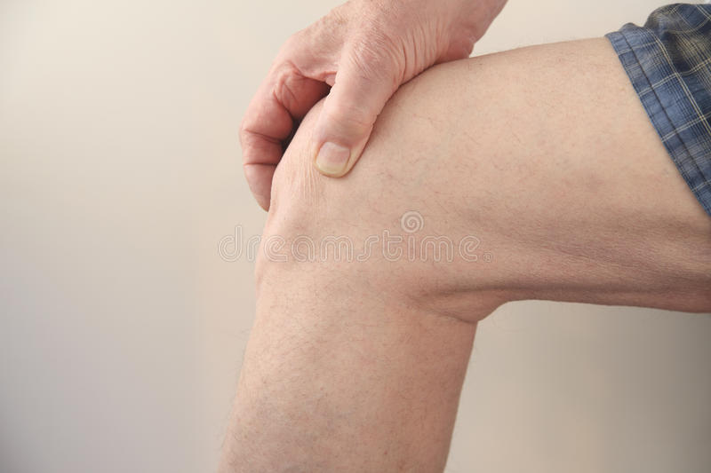 Download Sore Knee Stock Image - Image: 24204881