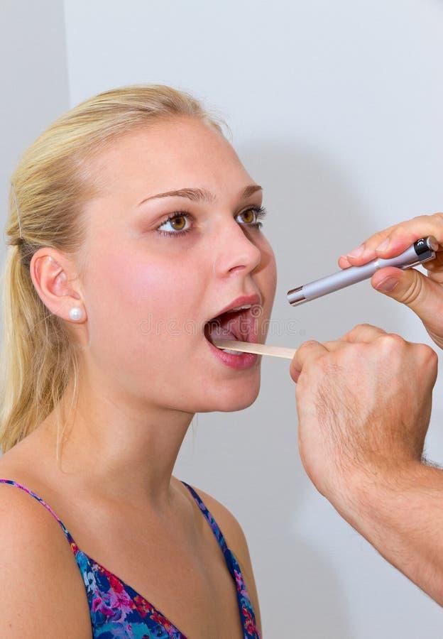 Download Sore throat stock photo. Image of depressor, caucasian - 21158814