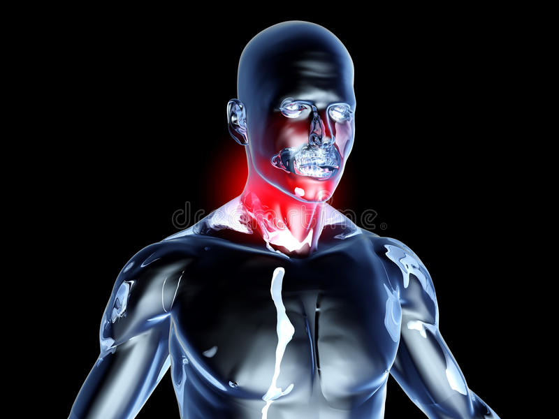 Download Sore Throat - Anatomy Stock Photos - Image: 20702923