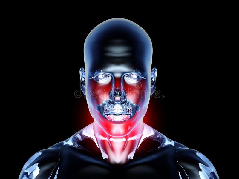 Download Sore Throat - Anatomy stock illustration. Illustration of digital - 20702935