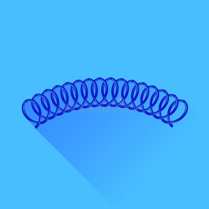 Download Sorgente blu illustrazione vettoriale. Illustrazione di icona - 56886126