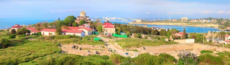 Sorgente Chersonesos (città antica) fotografie stock libere da diritti