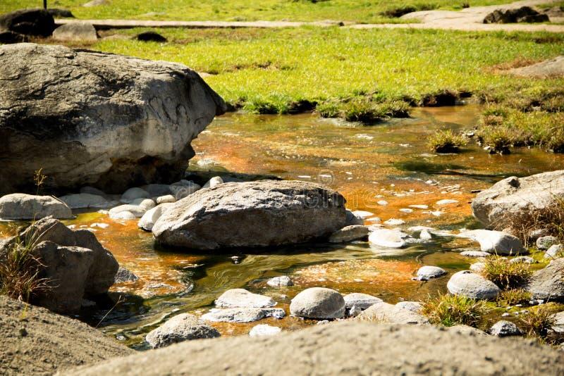 Sorgente di acqua calda fotografia stock