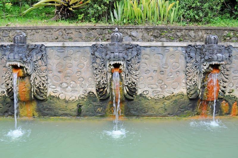Sorgenti di acqua calda di Banjar fotografie stock libere da diritti