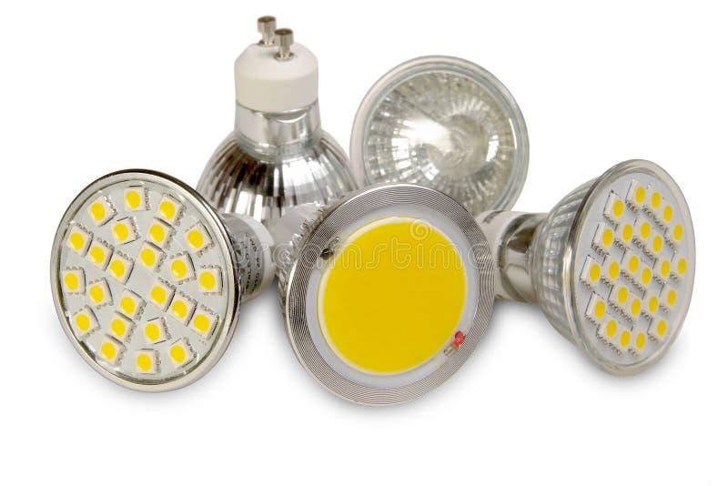 Download Sorgenti Luminose Efficienti Su Bianco Immagine Stock - Immagine di ritaglio, energia: 30832045