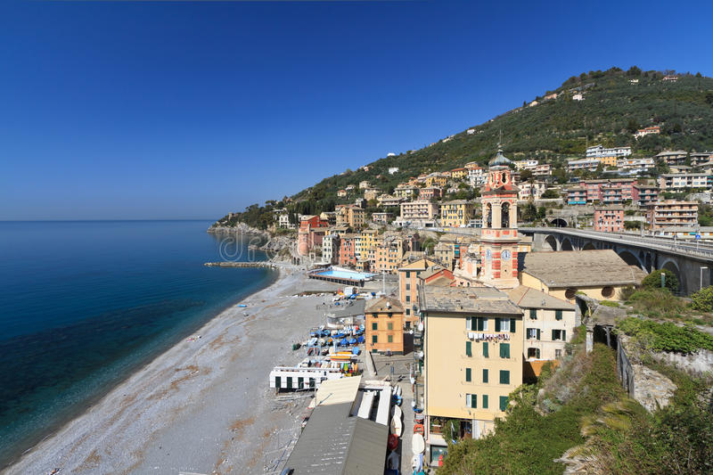 Sori, Italy - oveview stock images
