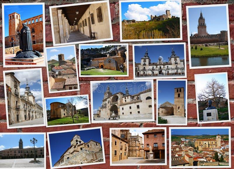 Soria in Spanien stockbilder