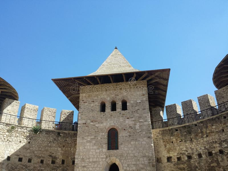 Soroca Festung lizenzfreies stockbild