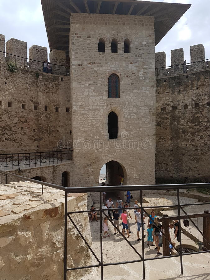 Soroca Fortress royalty free stock images