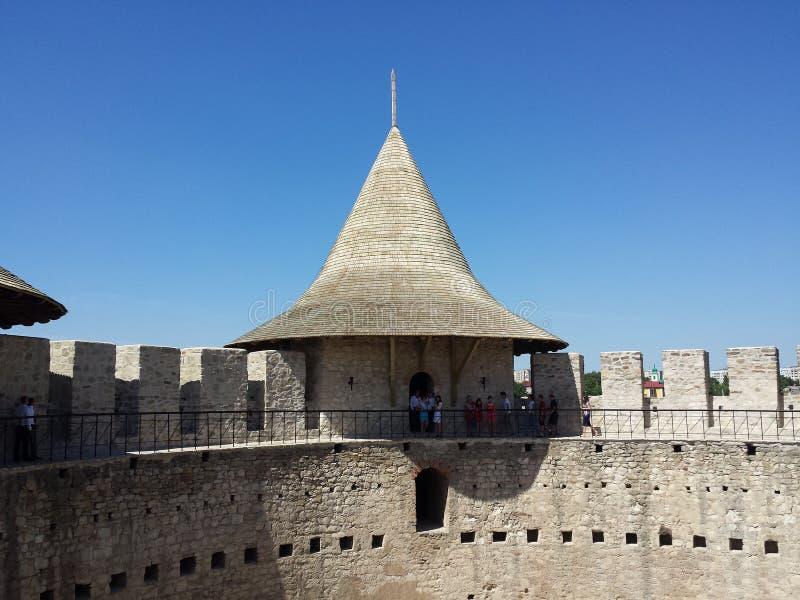Soroca Fortress royalty free stock photography