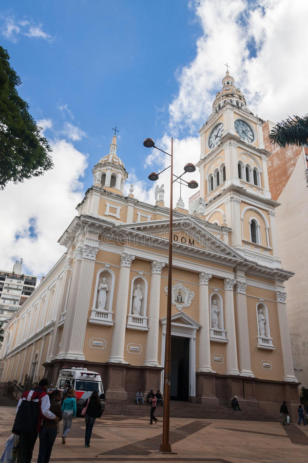 Sorocaba katedra obrazy stock