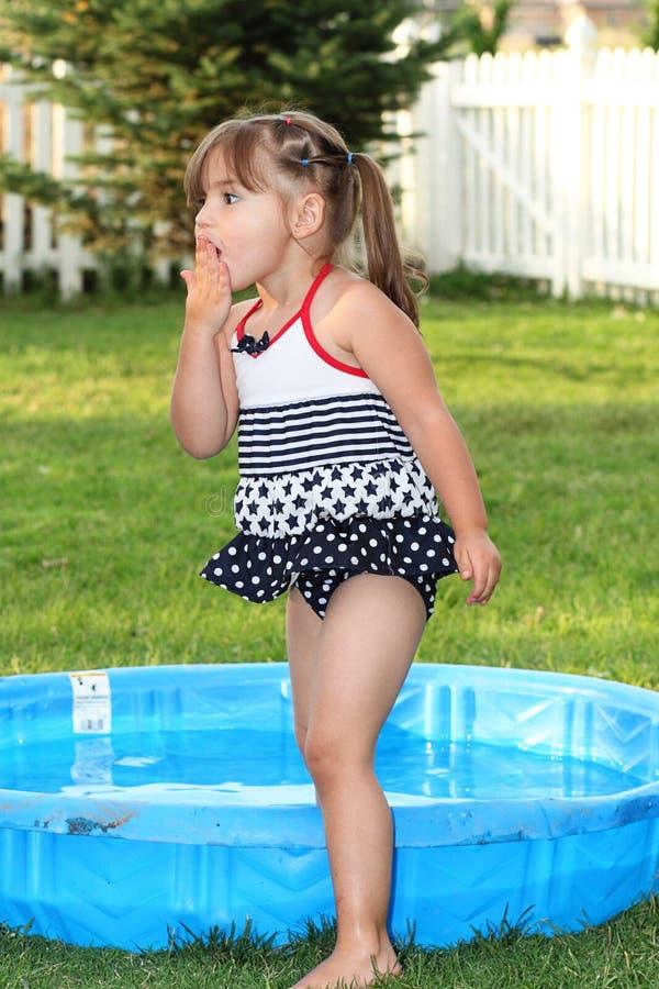 Sorpresa di estate del bambino immagini stock